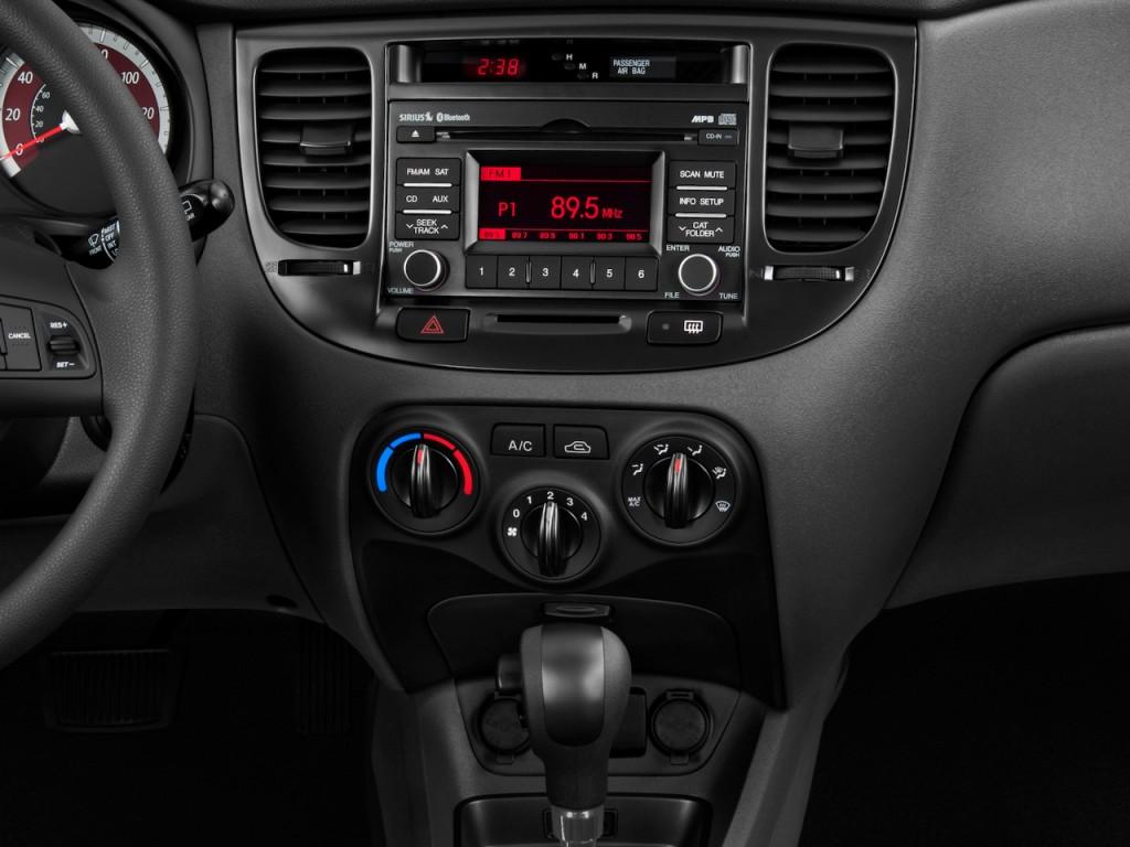 Image 2010 Kia Rio 5dr Hb Auto Rio5 Lx Instrument Panel Size 1024 X 768 Type Gif Posted On