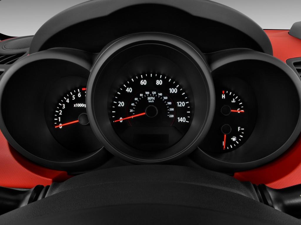 Image: 2010 Kia Soul 5dr Wagon Auto Sport Instrument ...