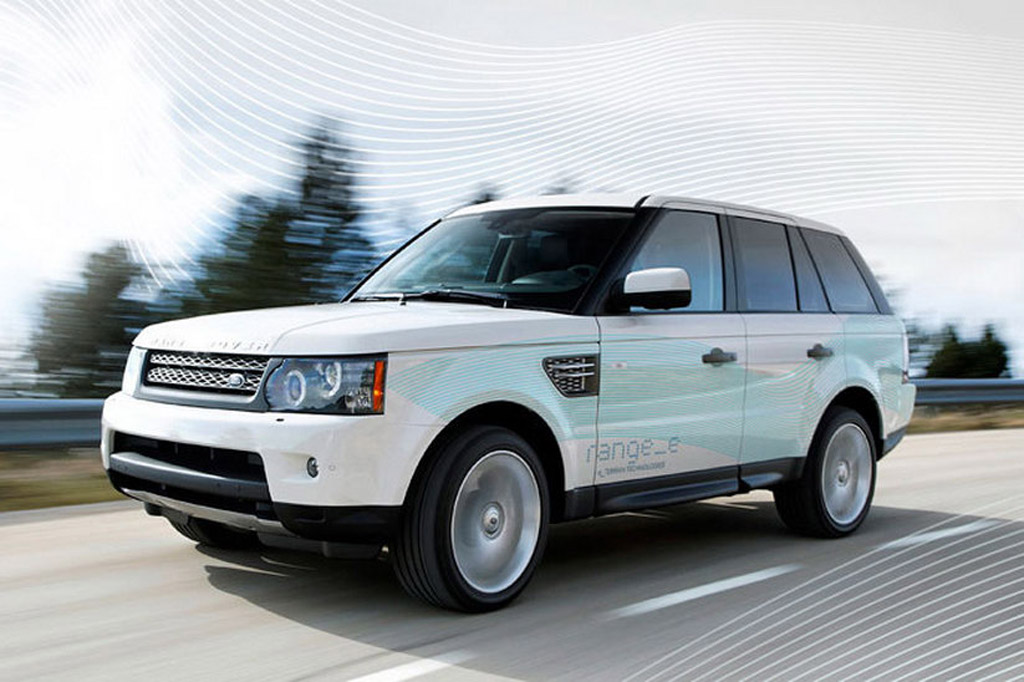 land rover range e concept previews new hybrid suv due in 2013. Black Bedroom Furniture Sets. Home Design Ideas