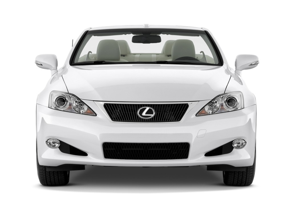 Image 2010 Lexus Is 250c 2 Door Convertible Auto Front Exterior View Size 1024 X 768 Type