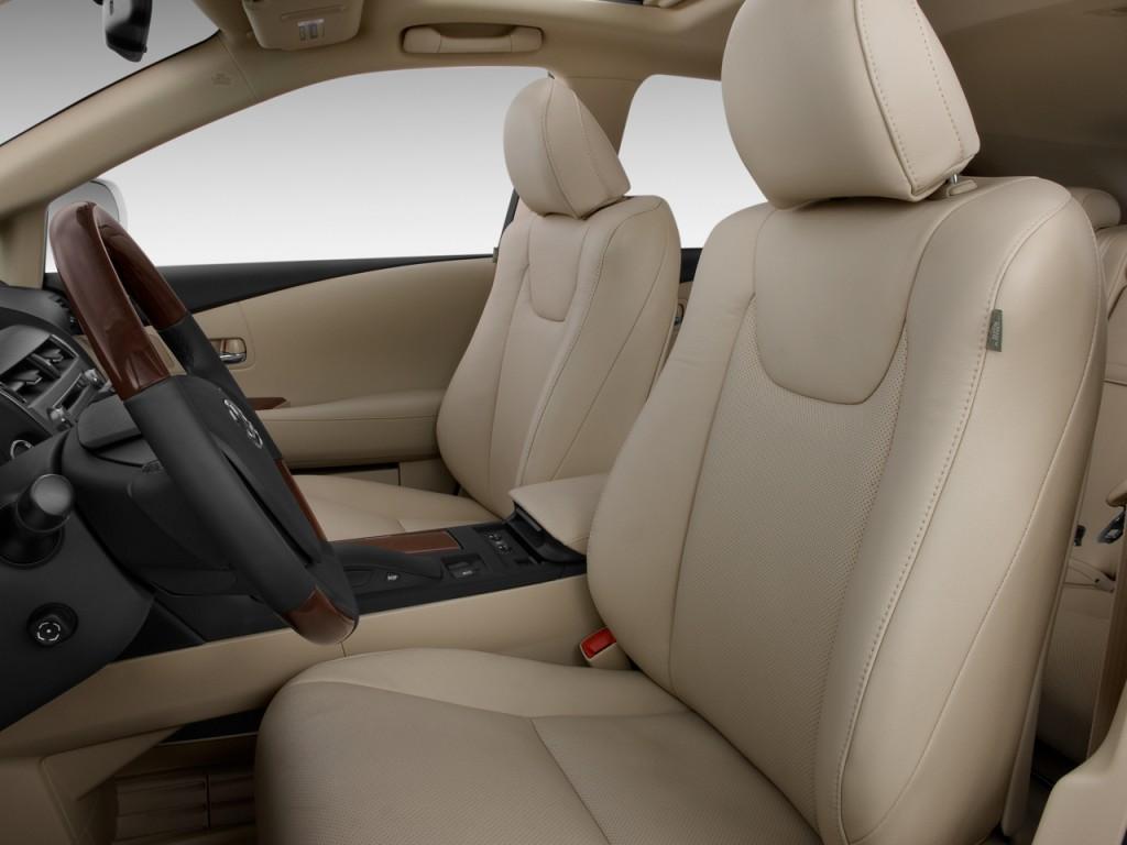 Image 2010 Lexus Rx 350 Fwd 4 Door Front Seats Size