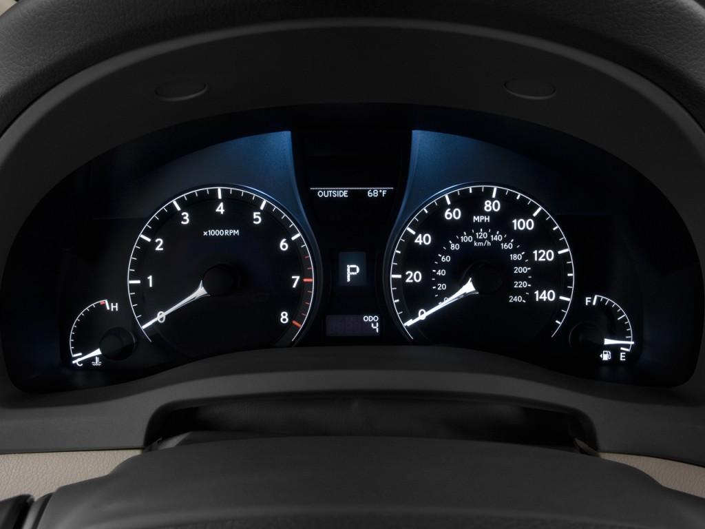 2010 Lexus RX 350 FWD 4-door Instrument Cluster