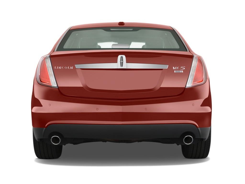 2010 Lincoln MKS 4-door Sedan 3.7L AWD Rear Exterior View