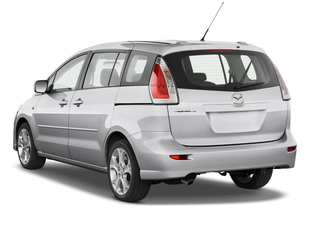 image 2010 mazda mazda5 4 door wagon auto sport angular. Black Bedroom Furniture Sets. Home Design Ideas