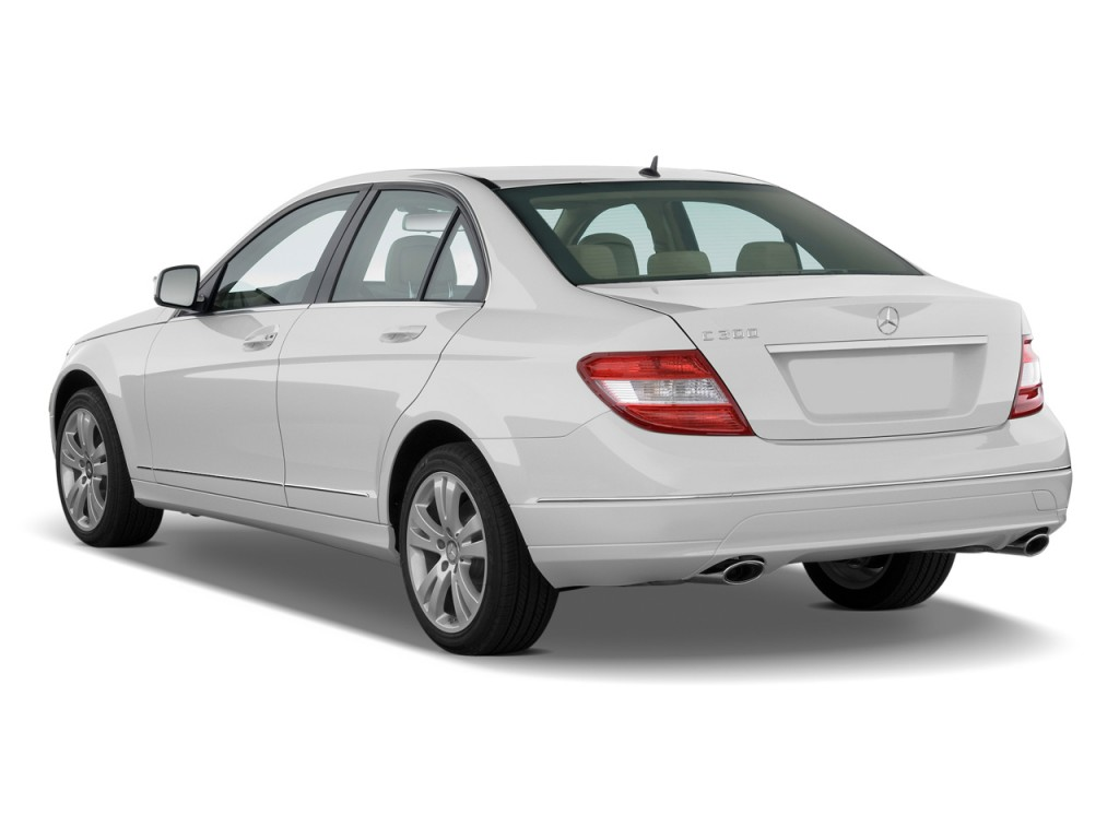 Image 2010 mercedes benz c class 4 door sedan 3 0l luxury for Mercedes benz 2010 c class
