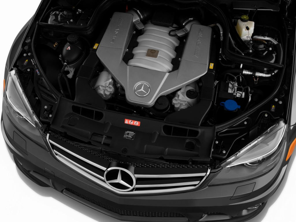 Image 2010 mercedes benz c63 amg 4 door sedan 6 3l amg for Mercedes benz c63 engine