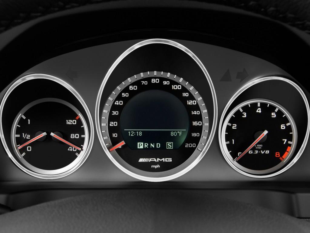 Image 2010 Mercedes Benz C63 Amg 4 Door Sedan 6 3l Amg