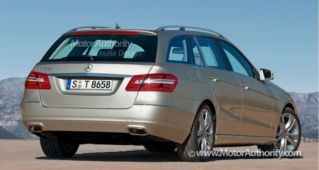 2010 mercedes benz e class estate rendering 002