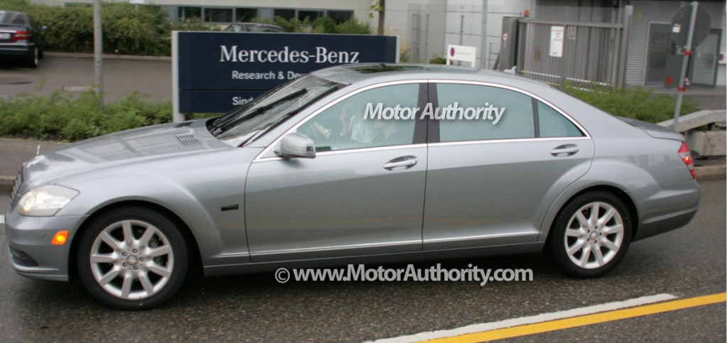 2010 mercedes benz s class facelift spy motorauthority 005