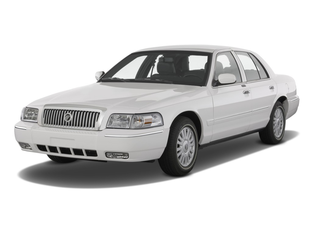 2010 Mercury Grand Marquis 4-door Sedan LS Angular Front Exterior View