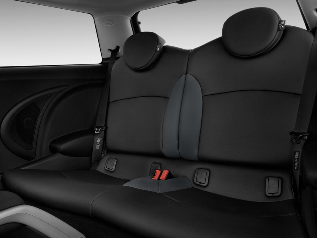 Used Mini Cooper Countryman >> Image: 2010 MINI Cooper Hardtop 2-door Coupe Rear Seats ...