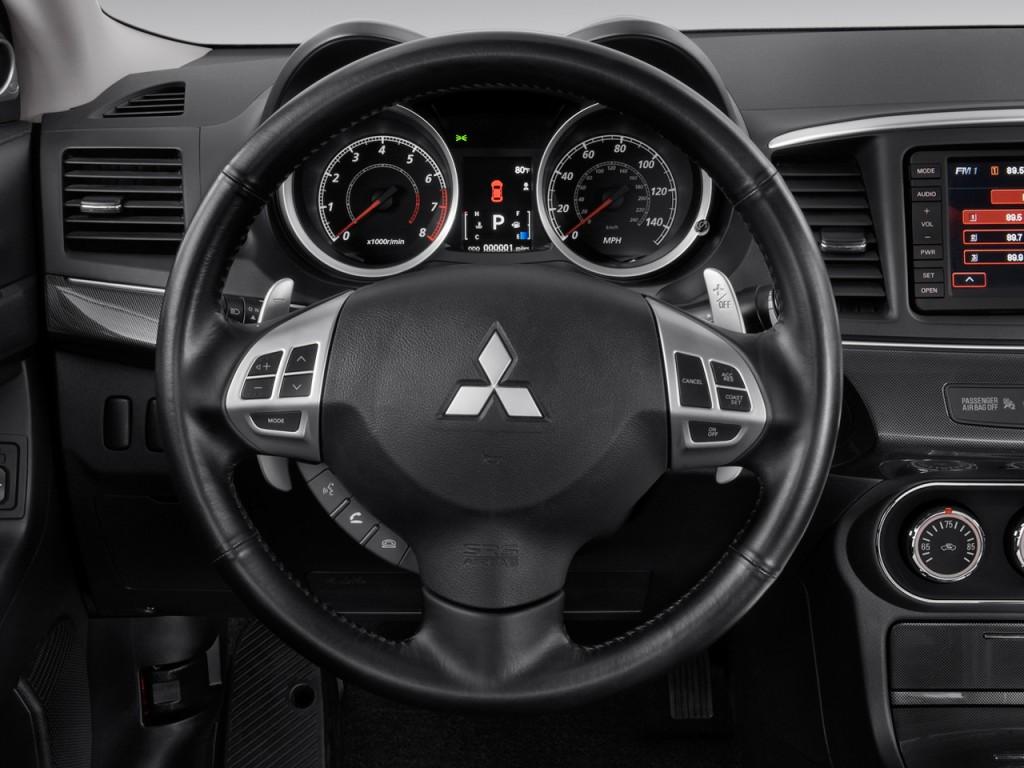 Image 2010 Mitsubishi Lancer 4 Door Sedan Cvt Gts