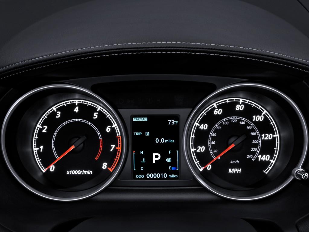2010 Mitsubishi Outlander AWD 4-door GT Instrument Cluster