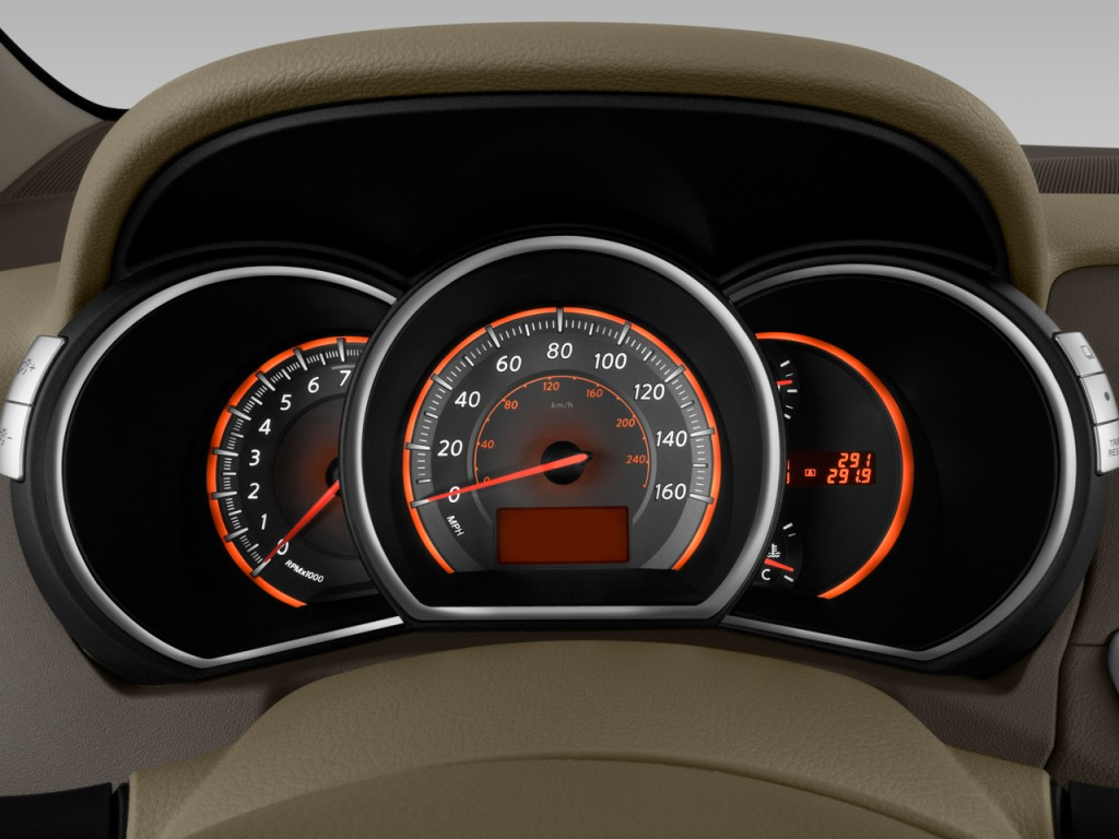 image 2010 nissan murano 2wd 4 door s instrument cluster. Black Bedroom Furniture Sets. Home Design Ideas