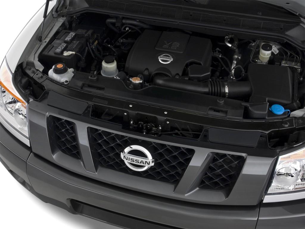 Image: 2010 Nissan Titan 2WD King Cab SWB XE Engine, size ...