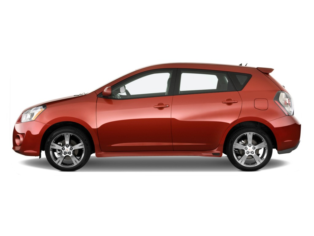 2010 Pontiac Vibe 4-door HB GT FWD Side Exterior View