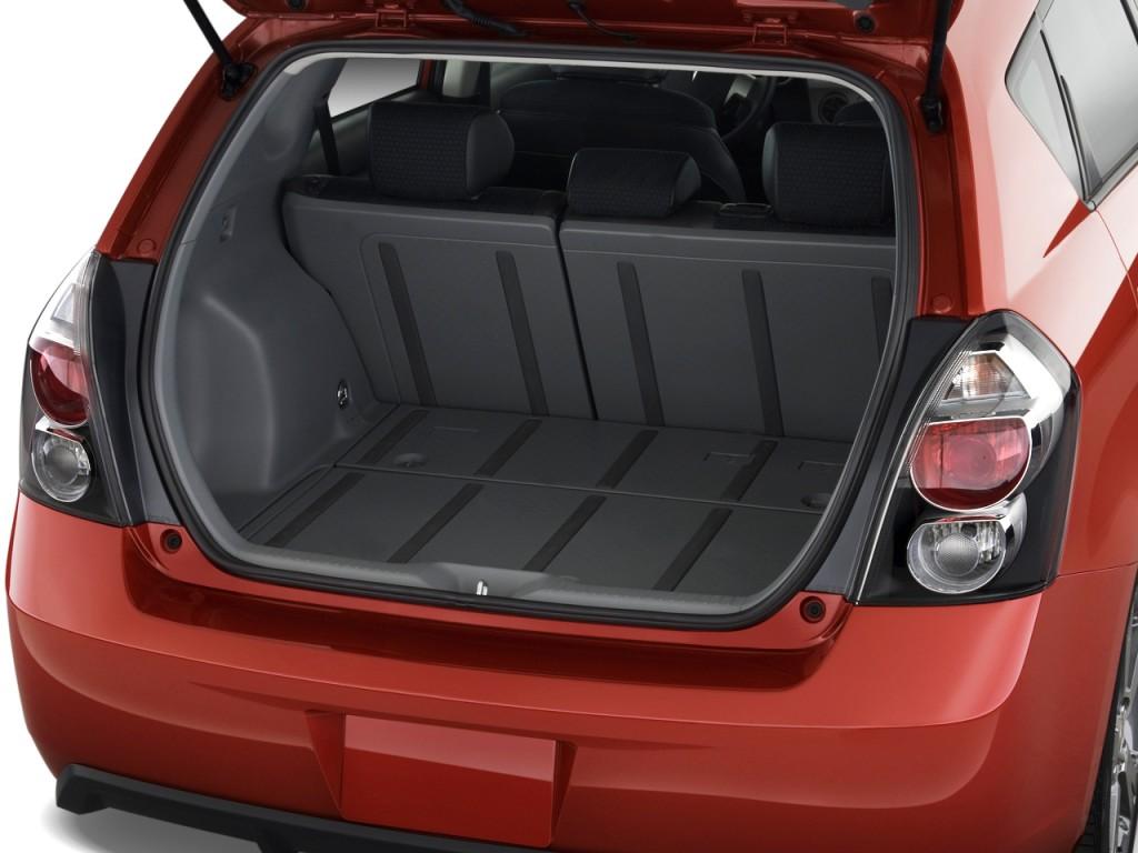 Image 2010 Pontiac Vibe 4 Door Hb Gt Fwd Trunk Size