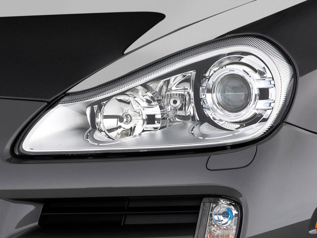 Image: 2010 Porsche Cayenne AWD 4-door S Headlight, size ...