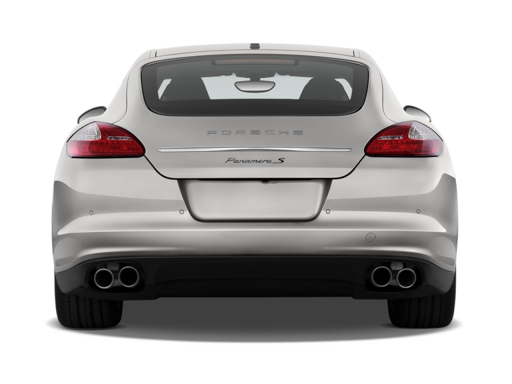 image 2010 porsche panamera 4 door hb 4s rear exterior. Black Bedroom Furniture Sets. Home Design Ideas