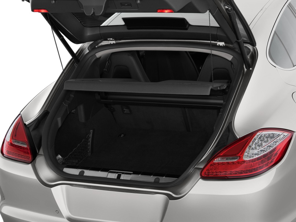 2010 Porsche Panamera 4-door HB 4S Trunk
