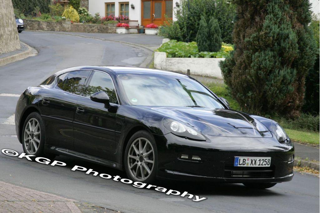 2010 Porsche Panamera spy shots