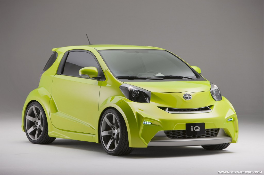 2010 Detroit Auto Show: Scion iQ To Debut As A Hybrid Hatch