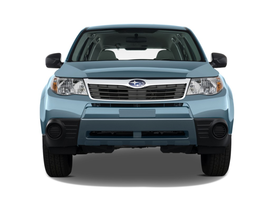 Image 2010 Subaru Forester 4 Door Auto X Front Exterior