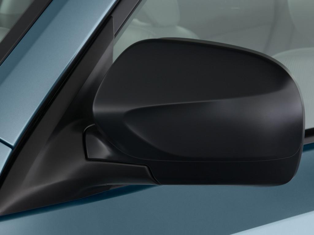 Image 2010 Subaru Forester 4 Door Auto X Mirror Size