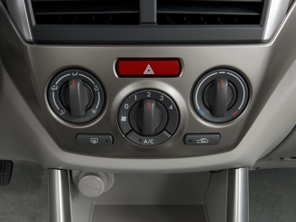 Temperature Controls 2010 Subaru Forester 4 door Auto X #692B28