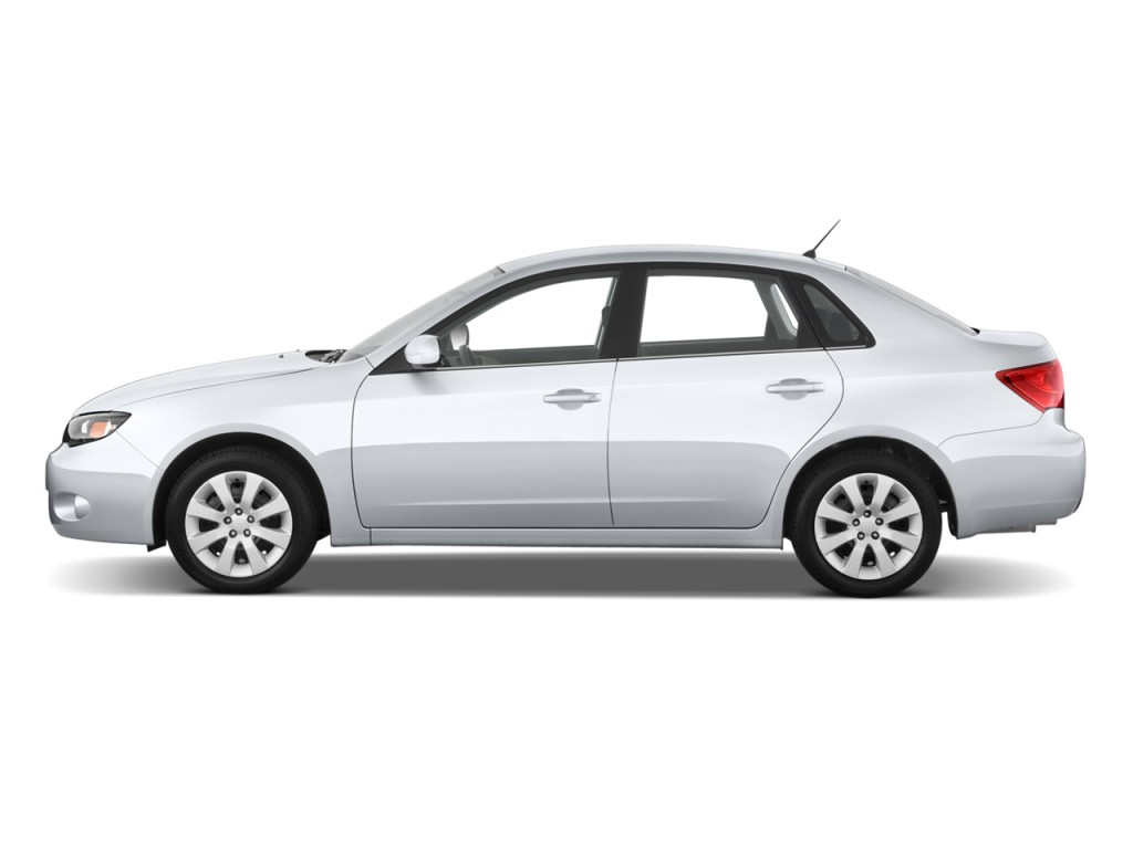 2010 Subaru Impreza WRX 4-door Man Side Exterior View