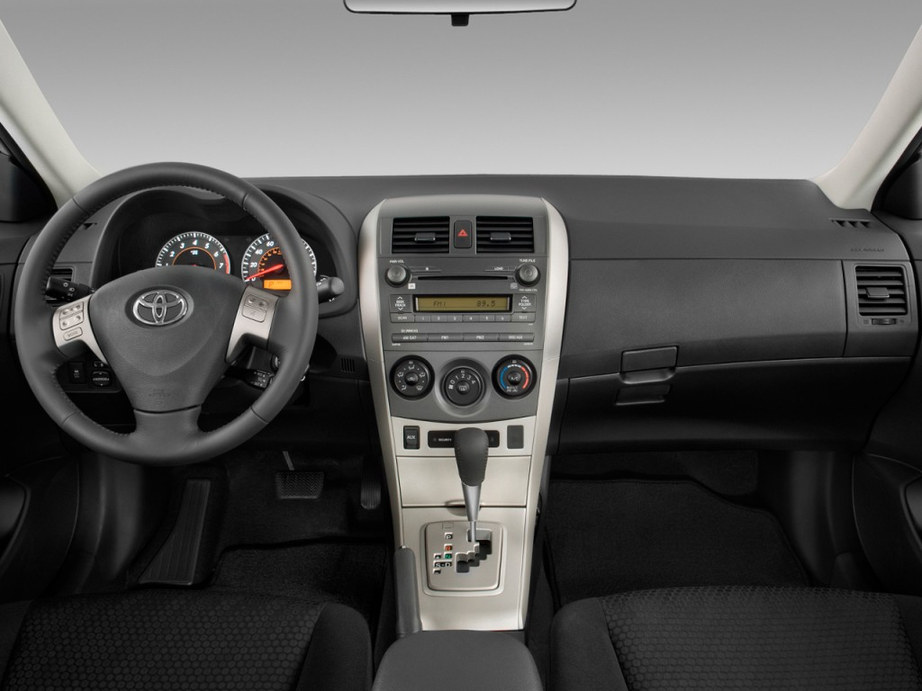 Avalon Vs Camry >> Image: 2010 Toyota Corolla 4-door Sedan Auto XRS (Natl) Dashboard, size: 1024 x 768, type: gif ...