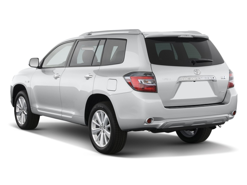 Image 2010 toyota highlander hybrid 4wd 4 door limited natl angular rear exterior view size Toyota highlander 2014 exterior