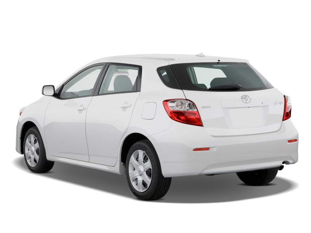 2010 Toyota Matrix 5dr Wagon Auto FWD (Natl) Angular Rear Exterior View