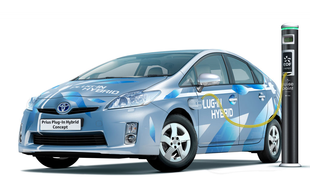 More Photos, Details On Toyota Prius Plug-in Hybrid Concept