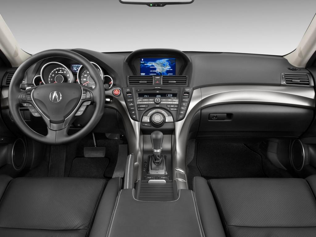Acura Tl Door Sedan Man Sh Awd Tech Hpt Dashboard L