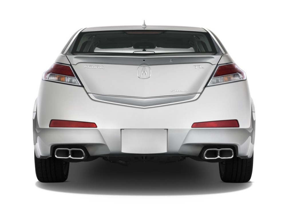 Acura Tl Door Sedan Man Sh Awd Tech Hpt Rear Exterior View L