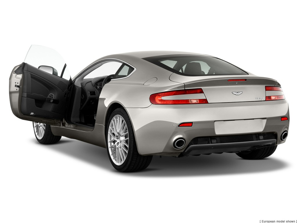 2011 Aston Martin V8 Vantage 2-door Coupe Sportshift Open Doors