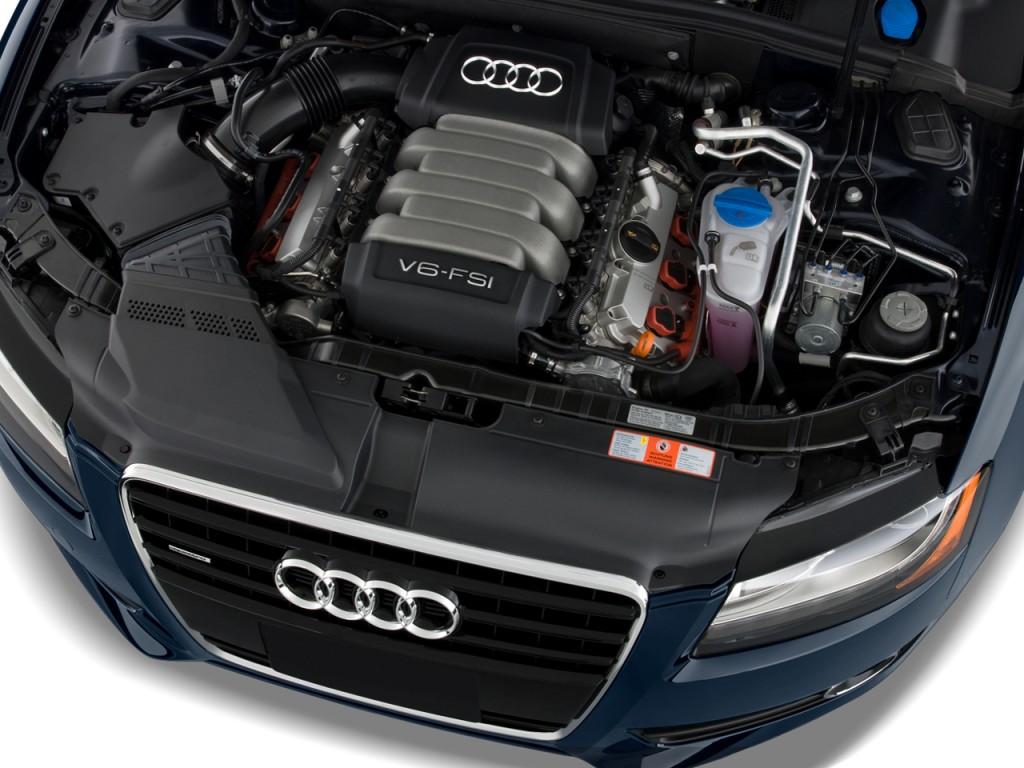 2011 Audi A5 2-door Coupe Auto quattro Premium Plus Engine