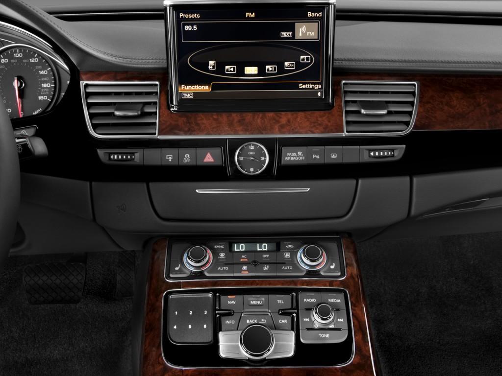 Image 2011 Audi A8 L 4 Door Sedan Audio System Size