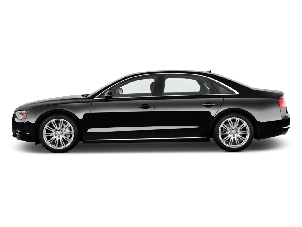 image 2011 audi a8 l 4 door sedan side exterior view. Black Bedroom Furniture Sets. Home Design Ideas