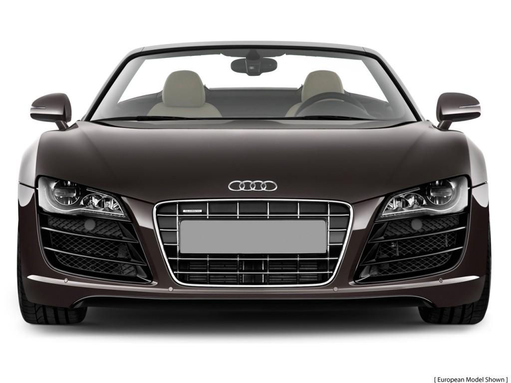 2011 Audi R8 2-door Convertible Man quattro Spyder 5.2L Front Exterior View