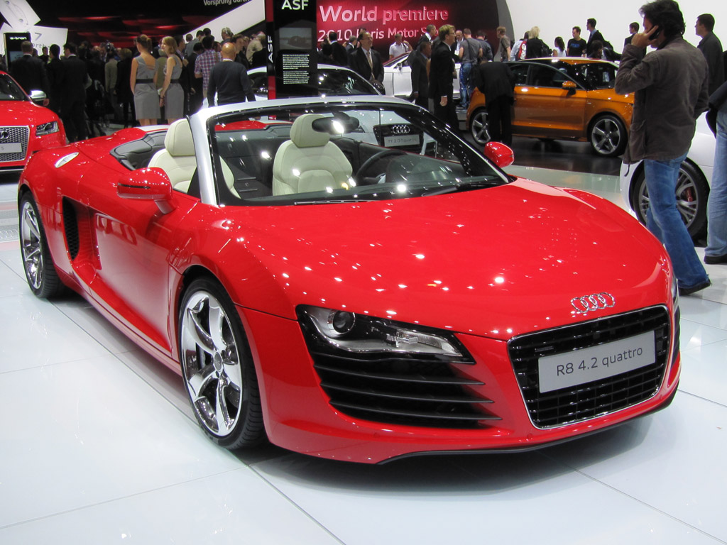 audi bringing custom r8 spyder and autonomous tt to sema. Black Bedroom Furniture Sets. Home Design Ideas