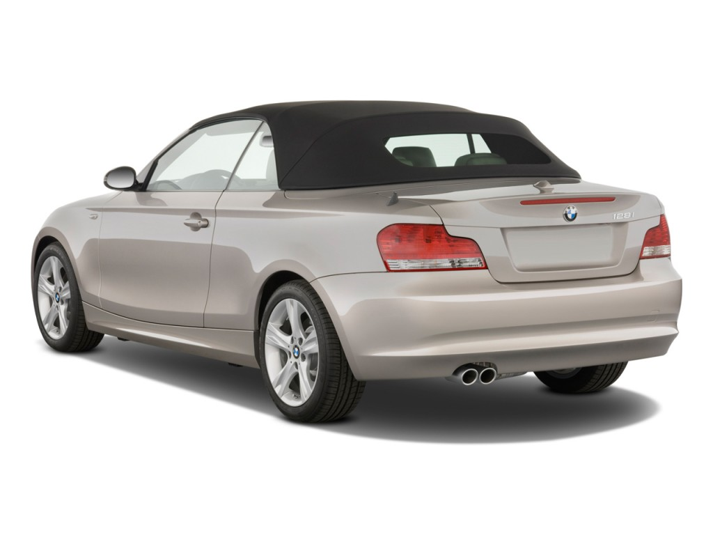Image 2011 Bmw 1 Series 2 Door Convertible 128i Angular