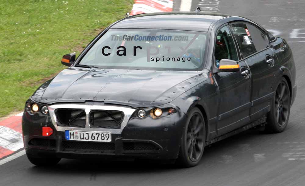 2011 BMW 5-Series Spy Shots