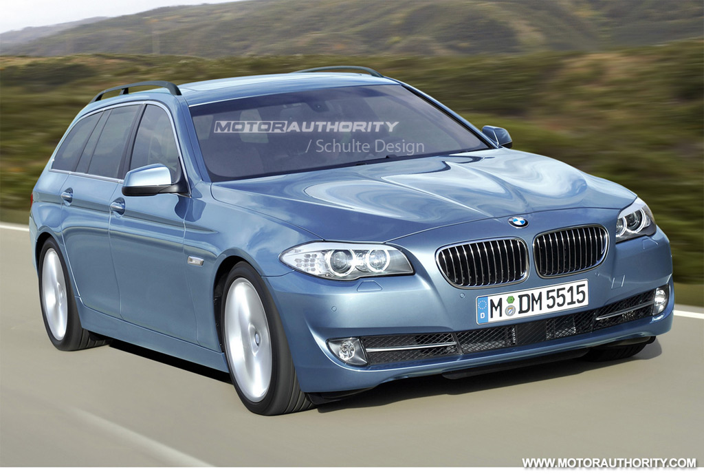 rendered  bmw  series touring