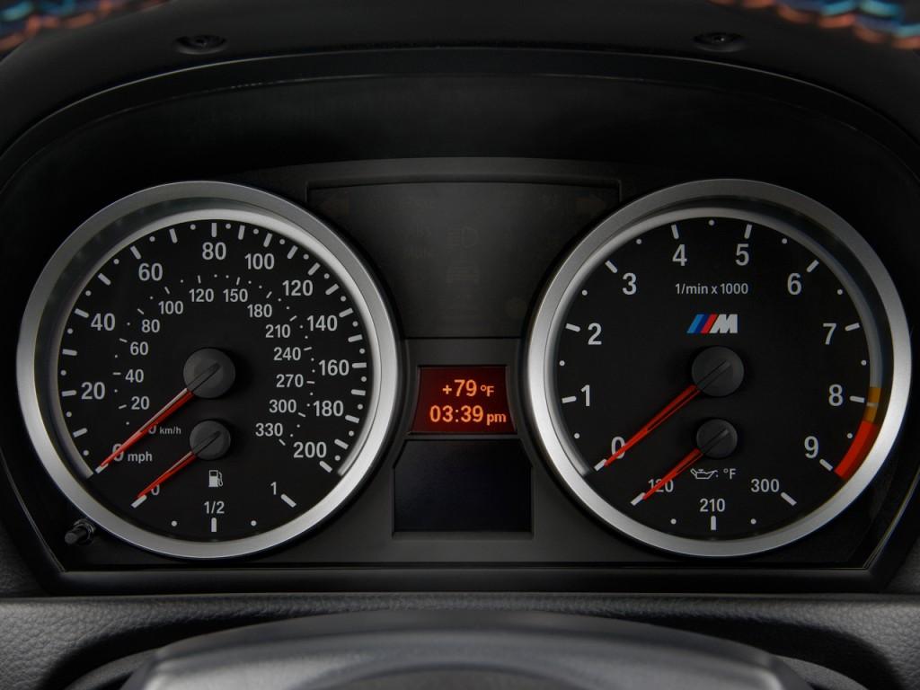 2011 bmw m3 2 door convertible instrument cluster