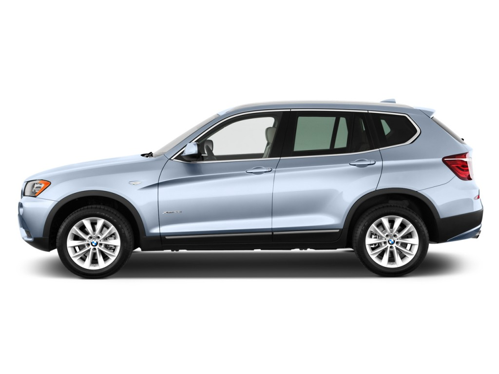 Image 2011 Bmw X3 Awd 4 Door 28i Side Exterior View Size