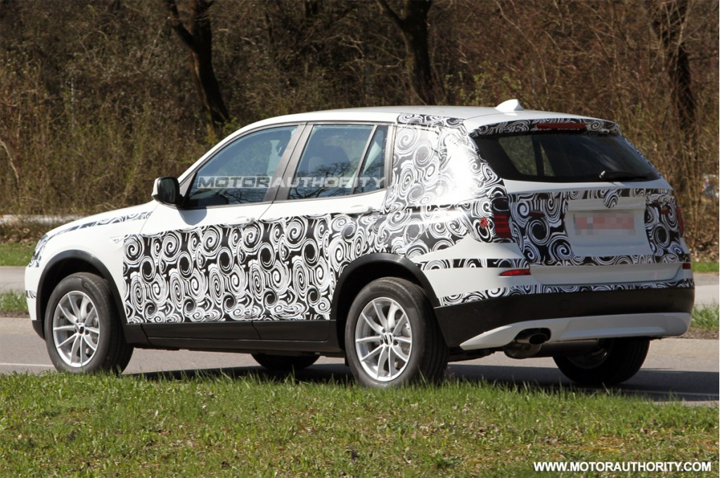 Image: 2011 BMW X3 Spy Shots, Size: 1024 X 680, Type: Gif, Posted On: April 6, 2010, 2:31 Pm