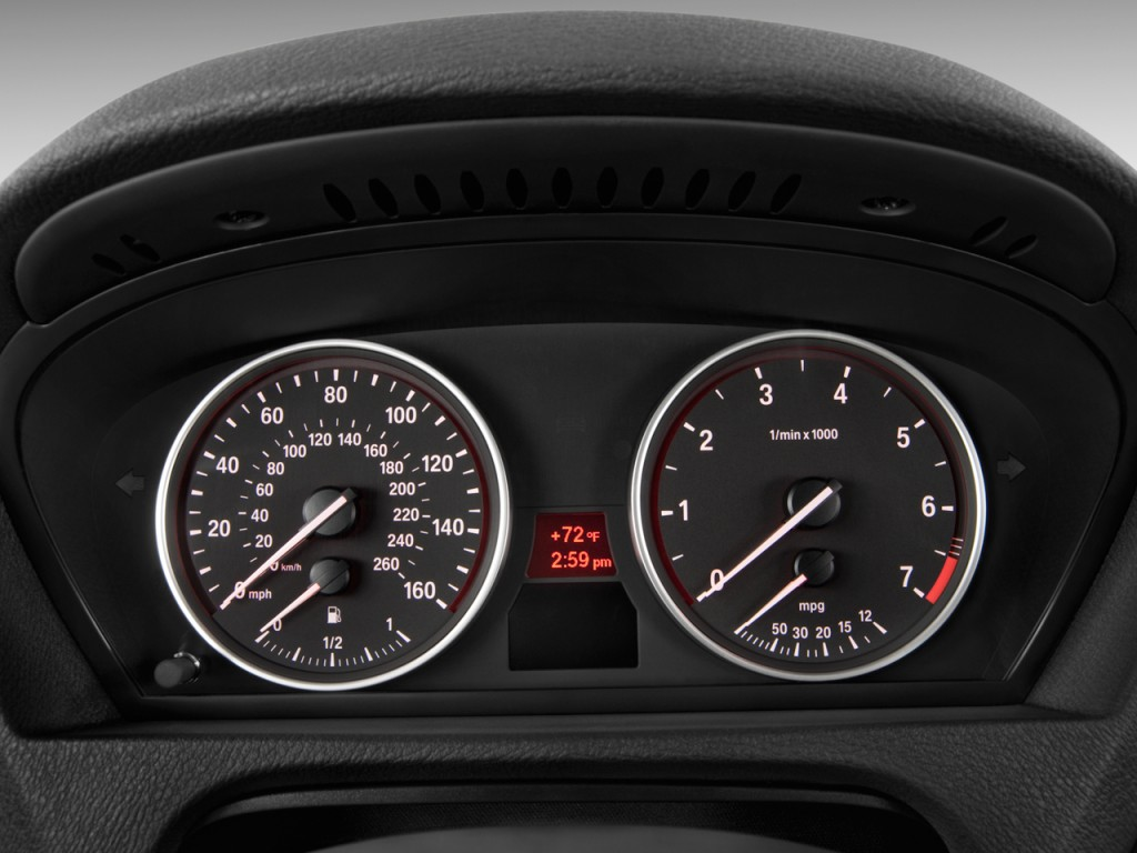 Image: 2011 BMW X5 AWD 4-door 50i Instrument Cluster, size ...