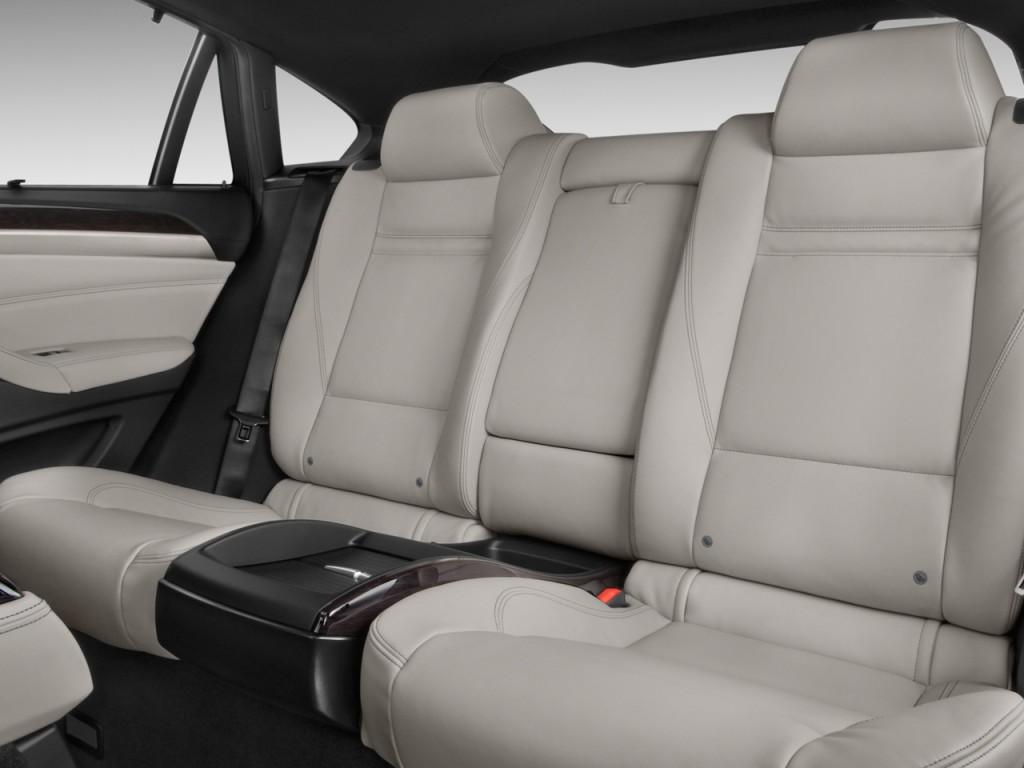 Image: 2011 BMW X6 AWD 4-door ActiveHybrid Rear Seats ...